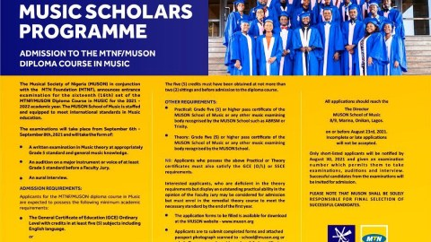MUSON Diploma 2021/2022