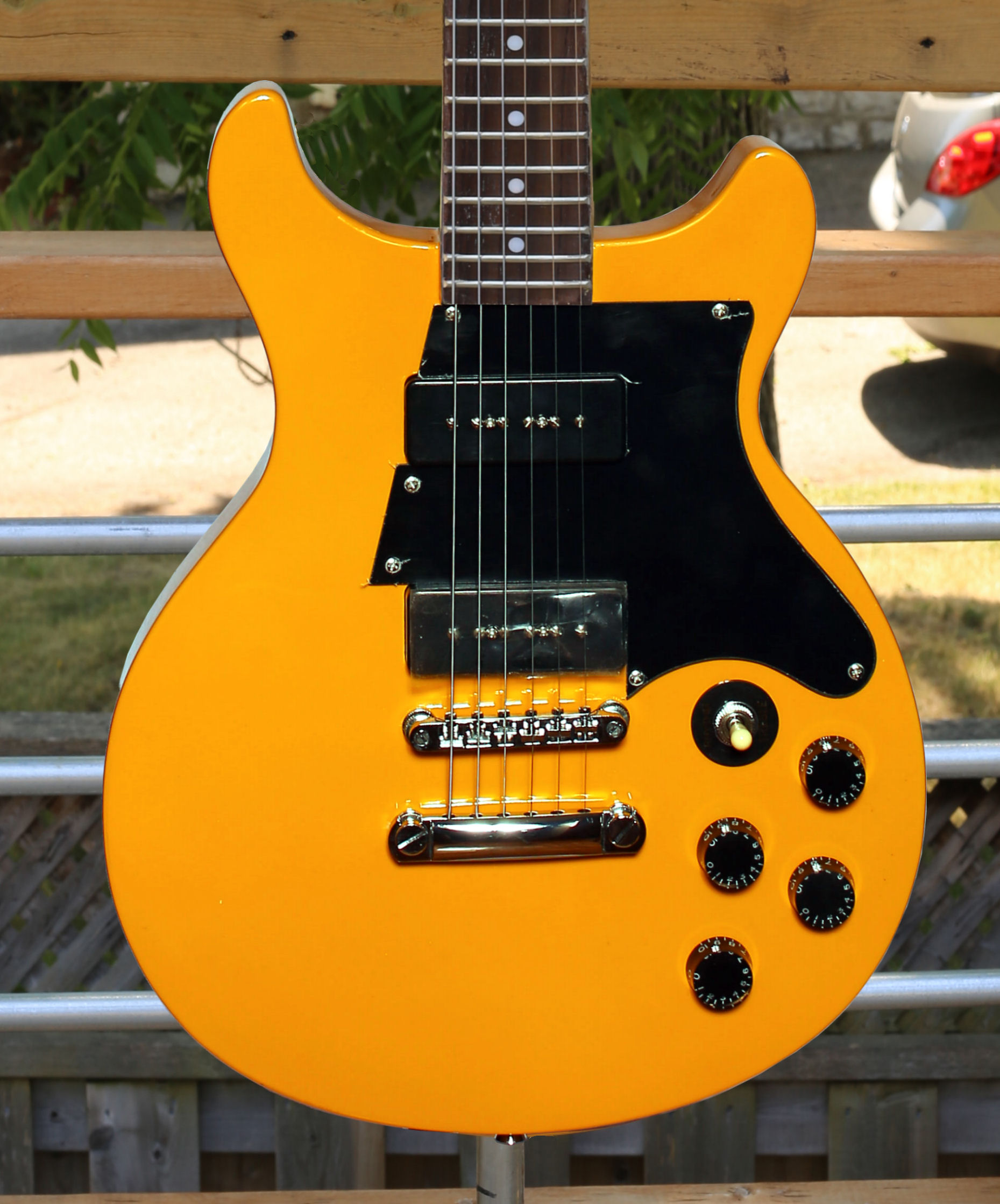 Tokai LP Jr  TJ-90 Yellow Mahogany Neck & Body