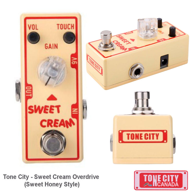 Tone City T3 Sweet Cream Overdrive