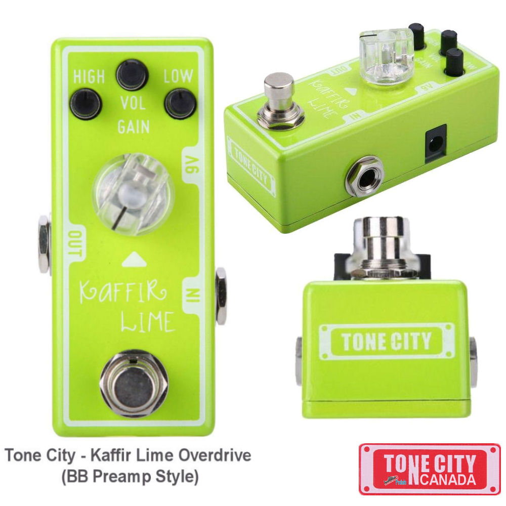 Tone City T6 Kaffir Lime Overdrive