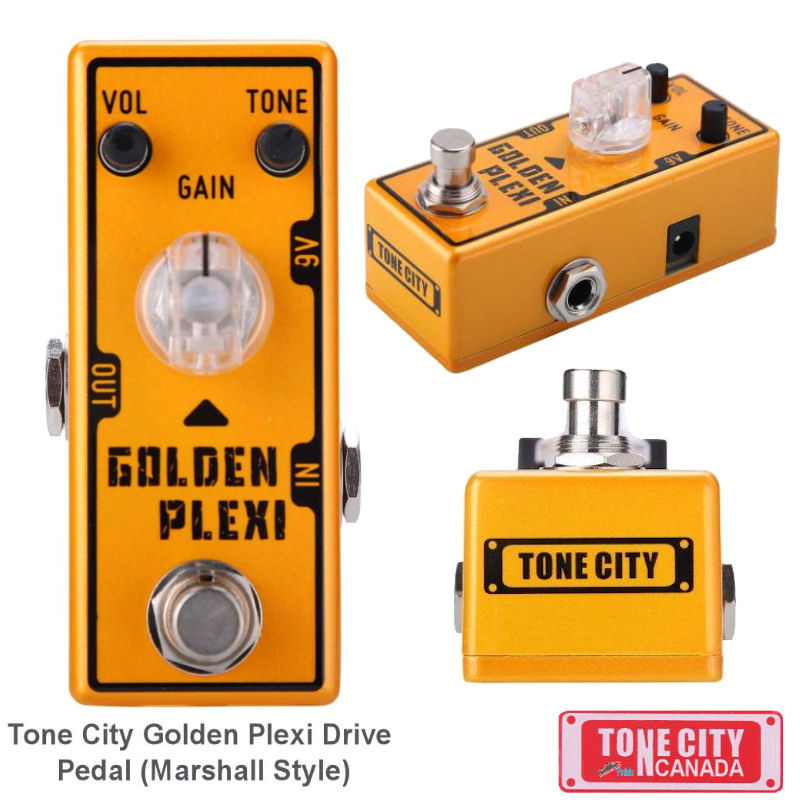 Tone City T7 Golden Plexi Distortion