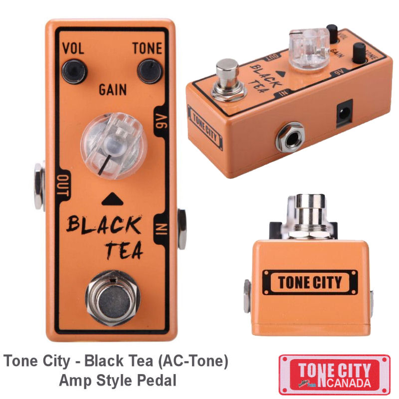 Tone City T8 Black Tea Distortion