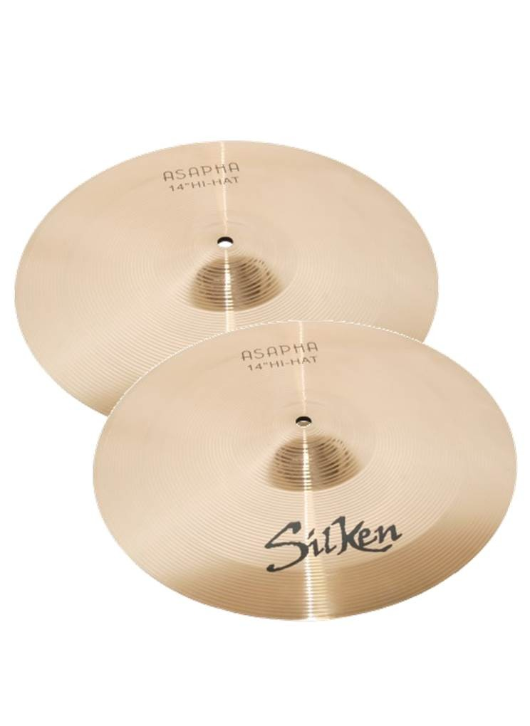 "SILKEN 14"" HI-HAT (PAIR)"