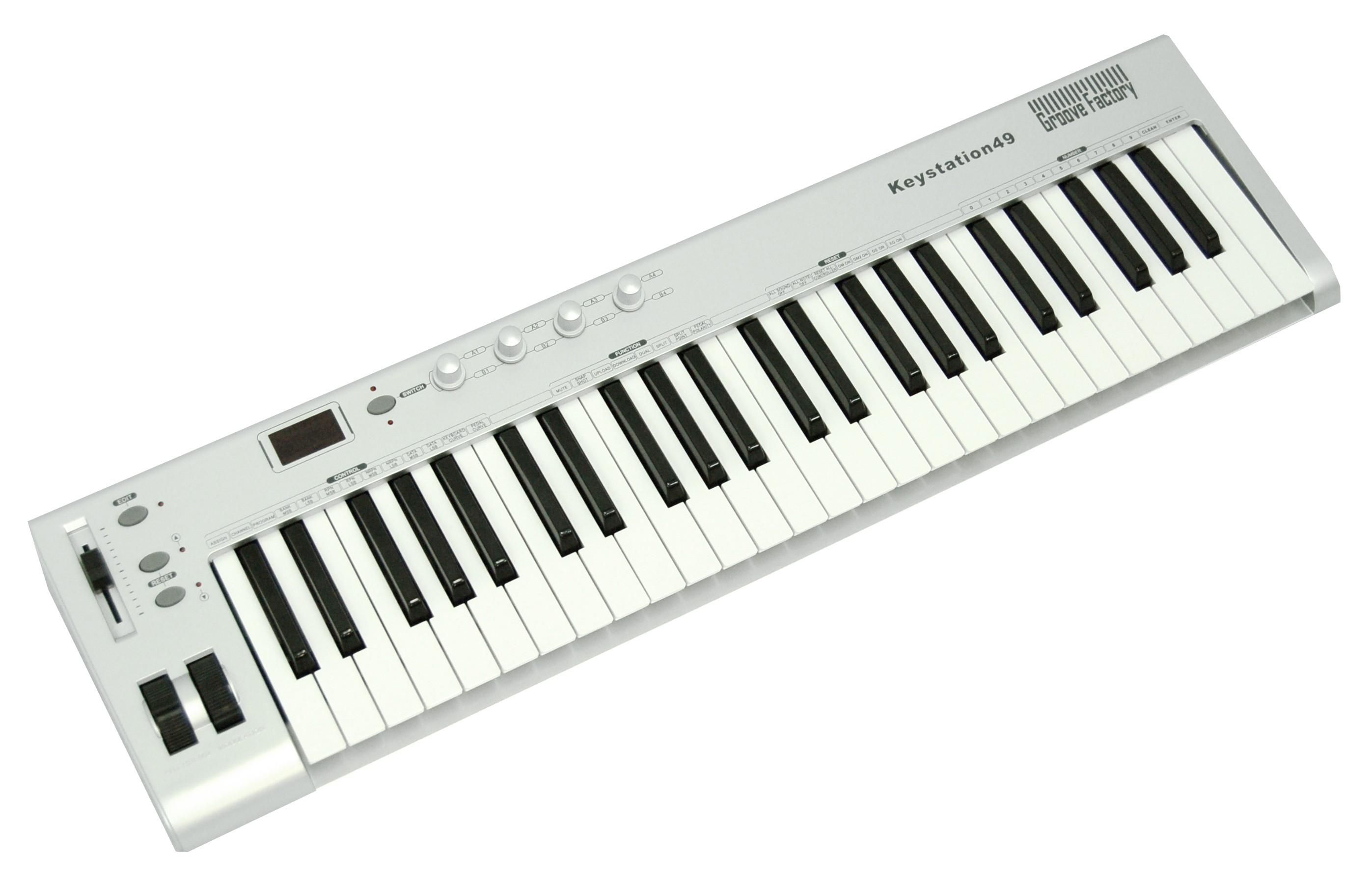 GROOVE FACTORY 49 KEYS USB MIDI CONTROLLER