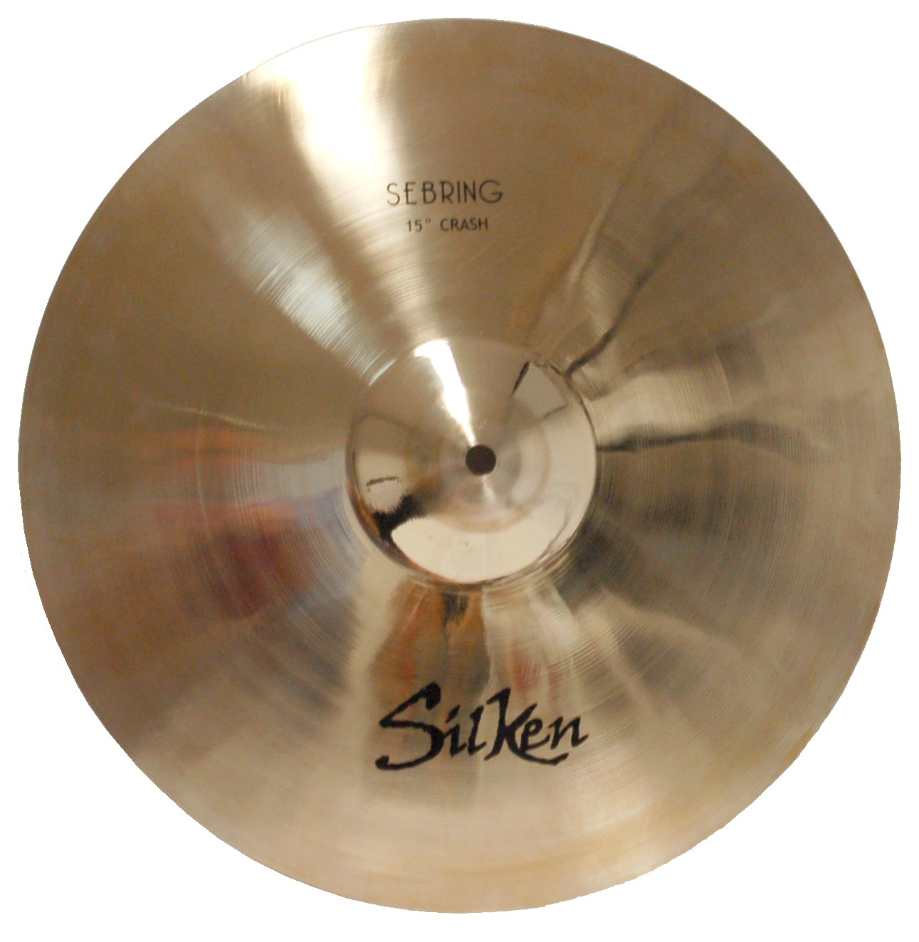 "SILKEN B20 15"" CRASH SEBRING SERIES CYMBAL"