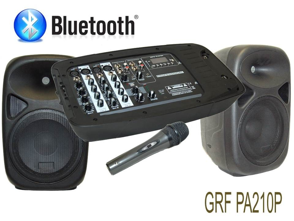 GROOVE FACTORY 240 WATTS POWERED SPEAKER SYSTEM