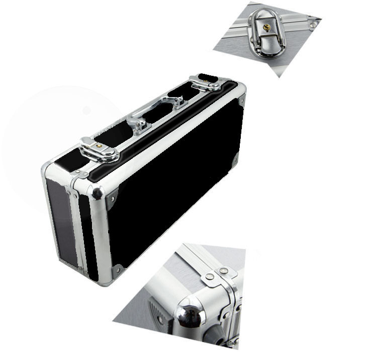 Hot Box Showman HB-5 Pedal board Flight Case Black