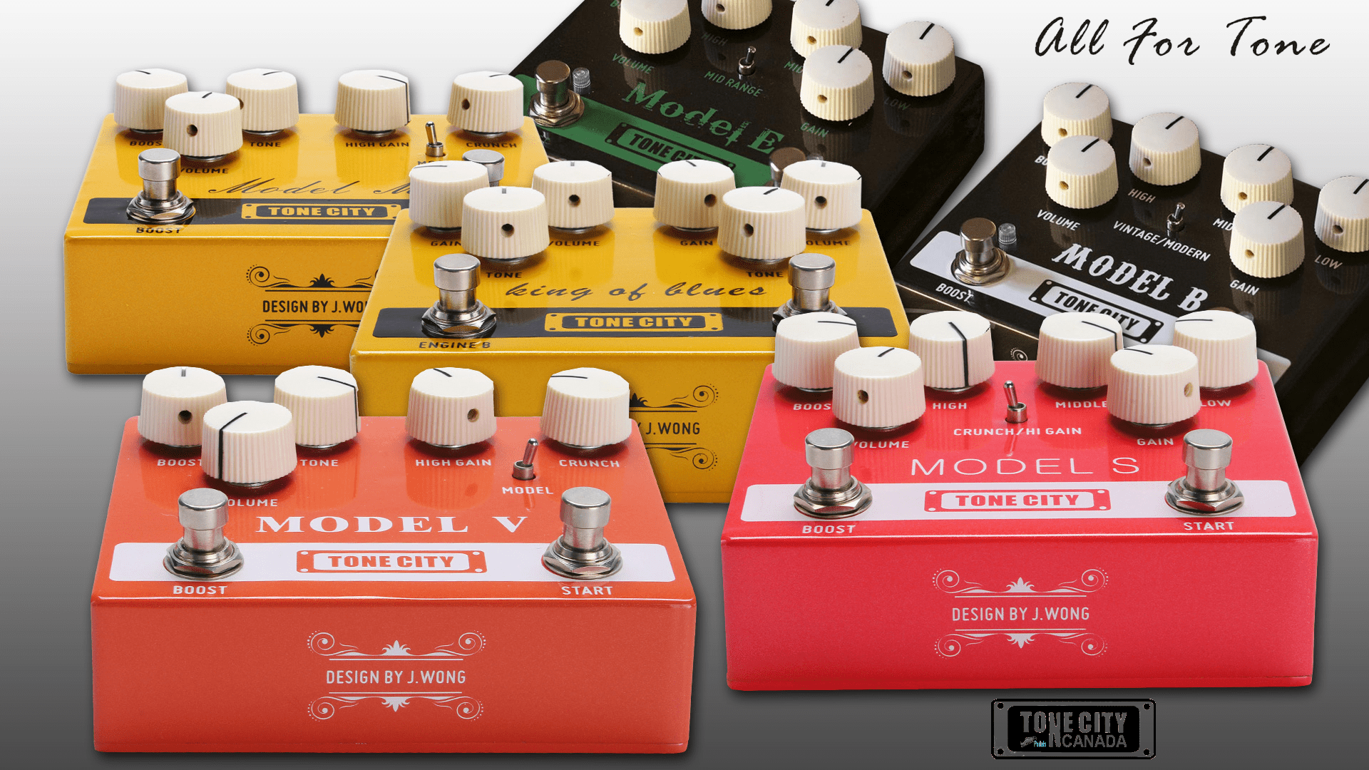 Tone City T33 Model V Distortion (Vox Style)