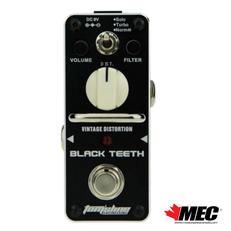 TOMSLINE ABT3 BLACK TEETH – Vintage Distortion