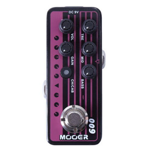 Mooer Micro Preamp 009 Blacknight