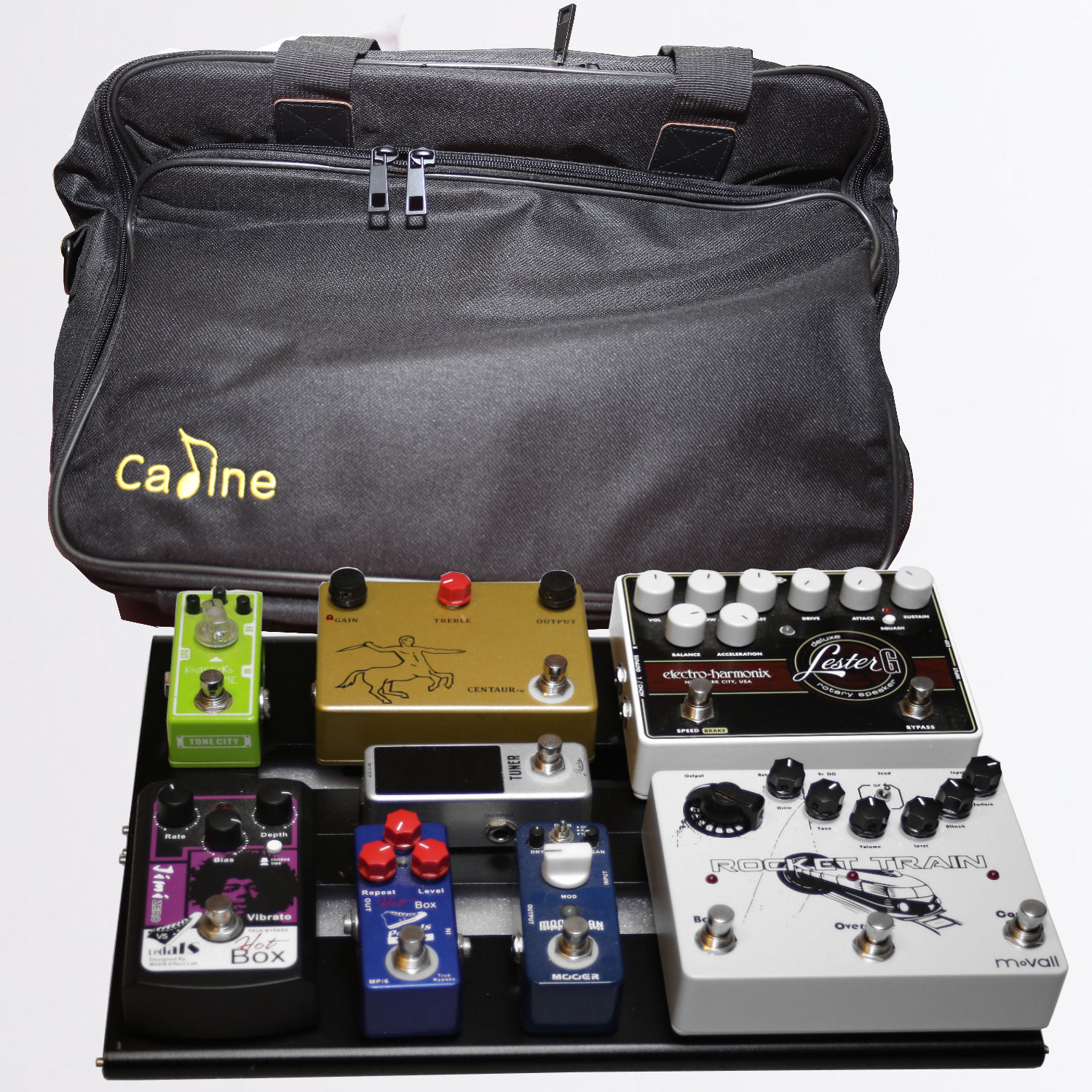 Caline CB-106 Pedalboard and Bag