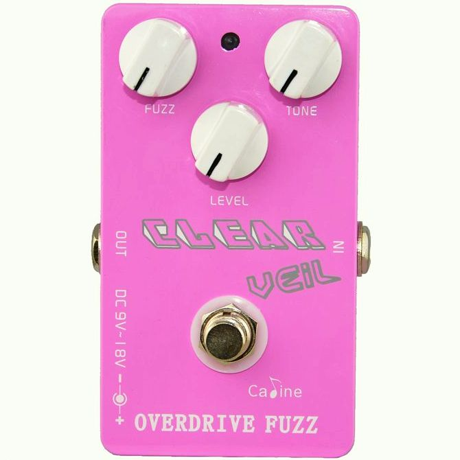 Caline CP-32 Clear Vail Fuzz Overdrive