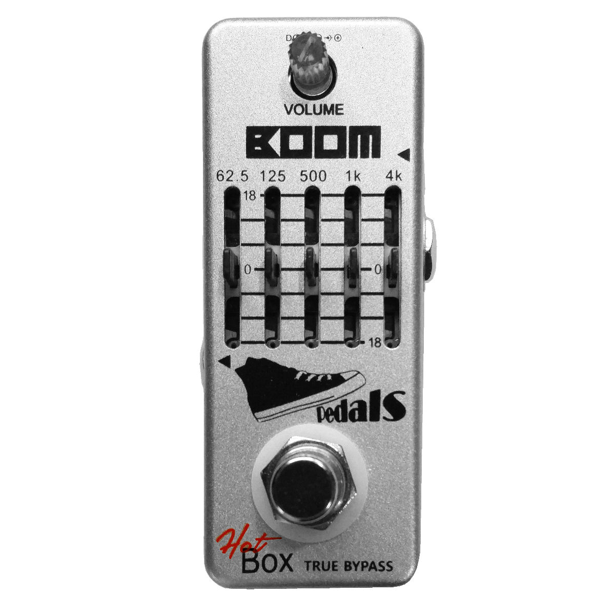 Hot Box Pedals Boom 5-band Bass Graphic Equalizer Attitude Series