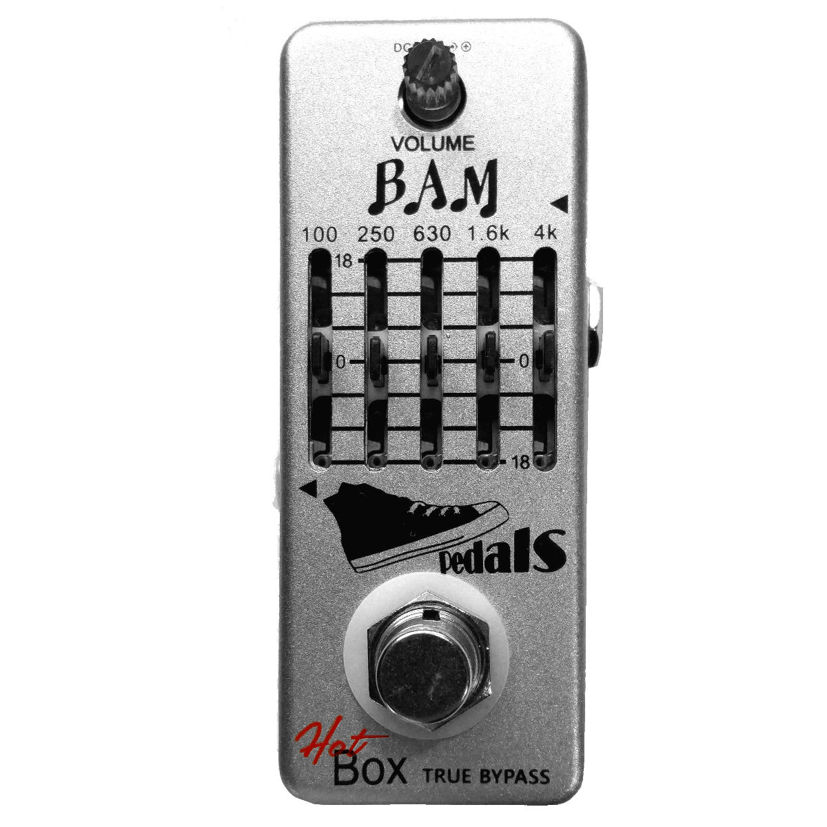 Hot Box Pedals Bam 5-band Guitar Graphic Equalizer Attitude Series