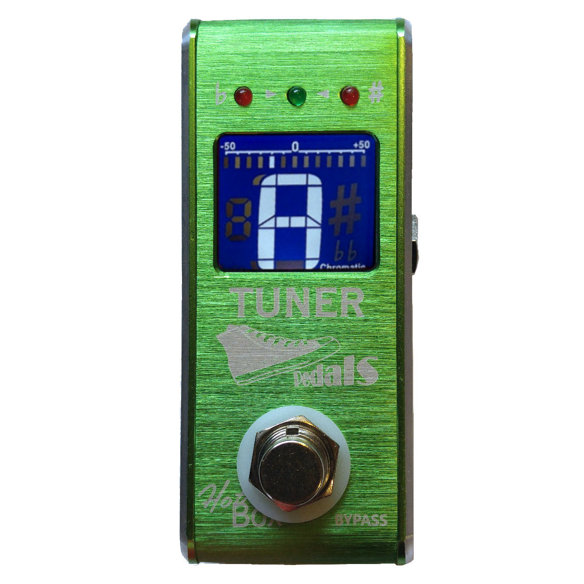 Hot Box Pedals Tuner Attitude Series Mini Chromatic Guitar Tuner