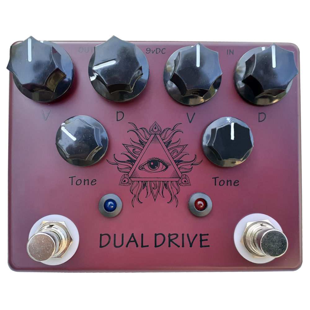 Hot Box HB-DD Dual Drive based on Analog Man King of Tone