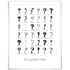 More questions marks