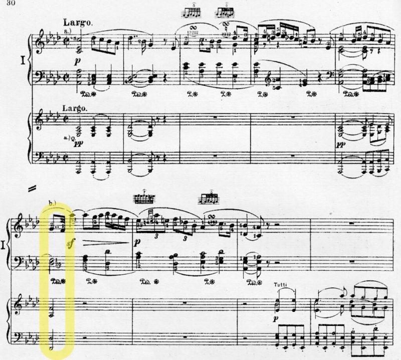 Beethoven Piano Concerto No. 1 II. excerpt