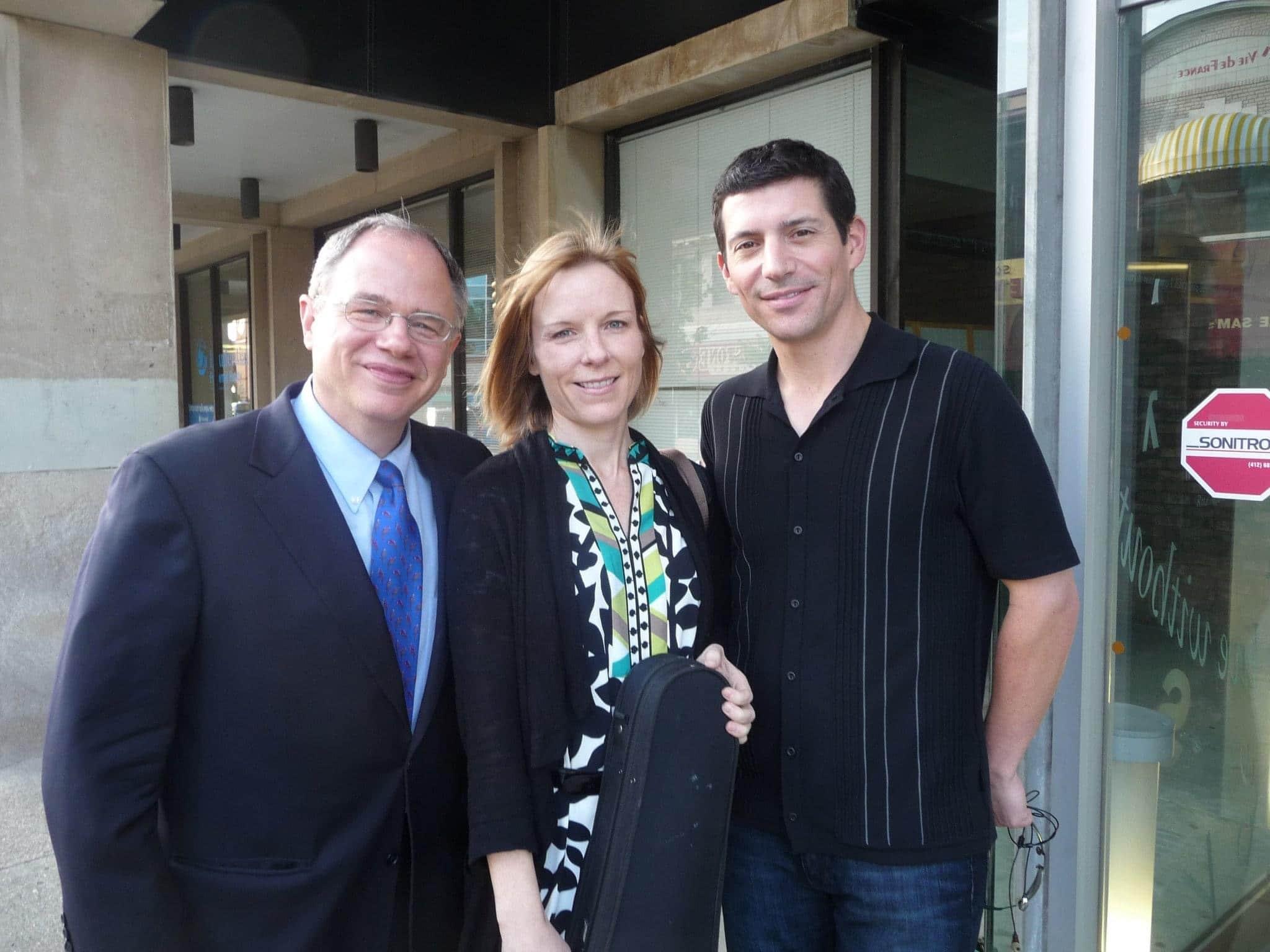 Jim Cunningham, Jennifer Orchard, Michael Rusinek