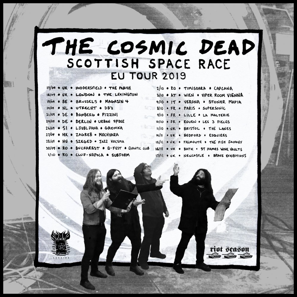 Gagnez 1 ticket pour le concert de The Cosmic Dead au Magasin 4 le 19 septembre