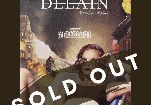 """DELAIN: release party de l'album """"Apocalypse & Chill"""" à Utrecht"""