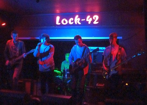 Leicester band Linear at Lock42
