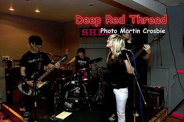Deep Red Thread at The Shed, photo Crosbie Photography