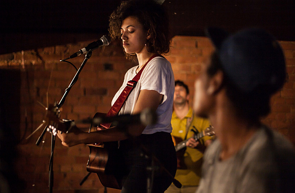 Mahalia at the Cookie in 2014.