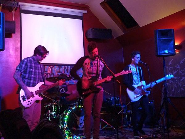 The Furies at Pi Bar Photo Keith Jobey