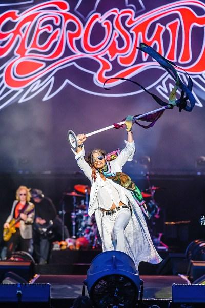 Aerosmith at Download 2014 Photo: Andrew Whitton