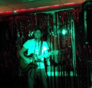 Steve Faulkner at Sloanes Bar