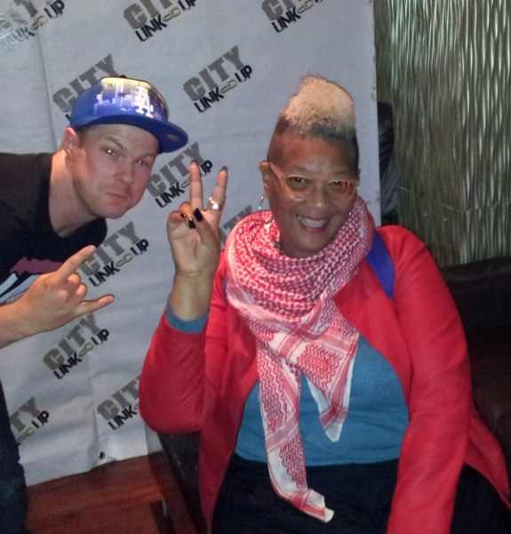 Jonezy and singer Carol Leeming at Havana Oxjam 2014
