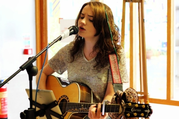 Elana Montgomery at The Depot Oxjam 2014