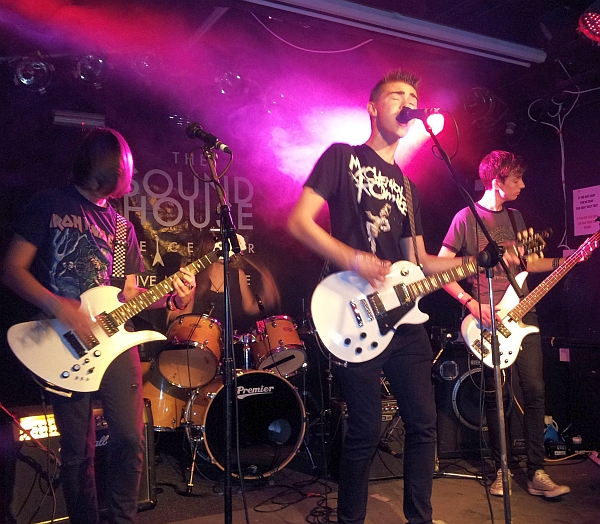 The World Can Wait at The Soundhouse, Oxjam 2014