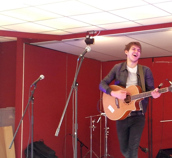 Alex Van Roose on the Orton Square Stage Oxjam 2014
