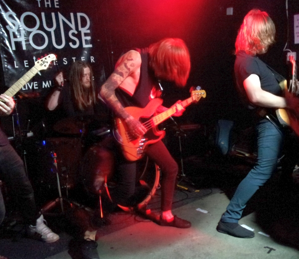 Cain Boy Jumped Ship The Soundhouse 10th October