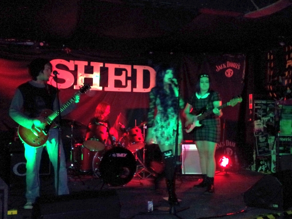 Before The Crash playing at The Shed in 2014