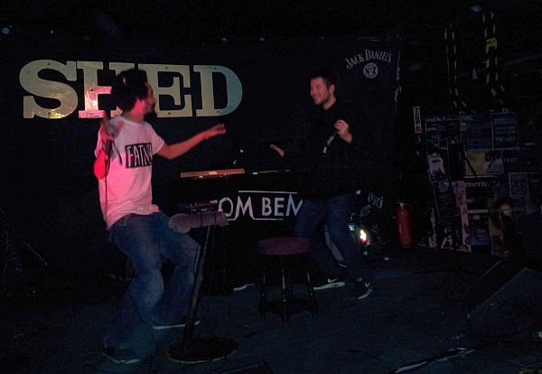 Motormouth and Ashmore at The Shed, January 2015