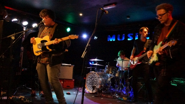 Cohesion at The Musician, January 2015. Photo Trevor Cobbe