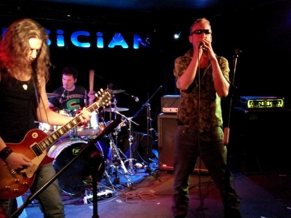 Last Half band, lead singer Nick Pope