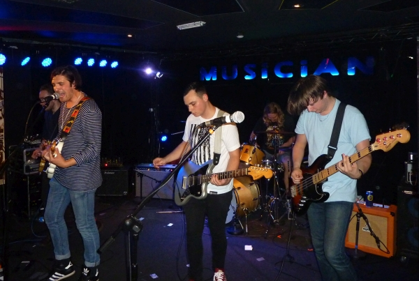 Clubs at The Musician on 12th June 015. Photo: Keith Jobey