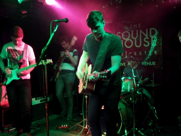 Once Vagrant Souls at The Soundhouse in 2015