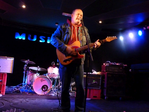 Kevin Hewick at The Musician. Photo Keith Jobey.