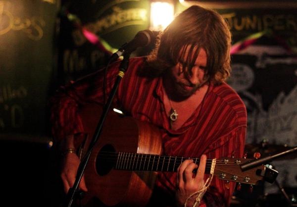 Luke Walker at Duffys Bar. Photo Kevin Gaughan.