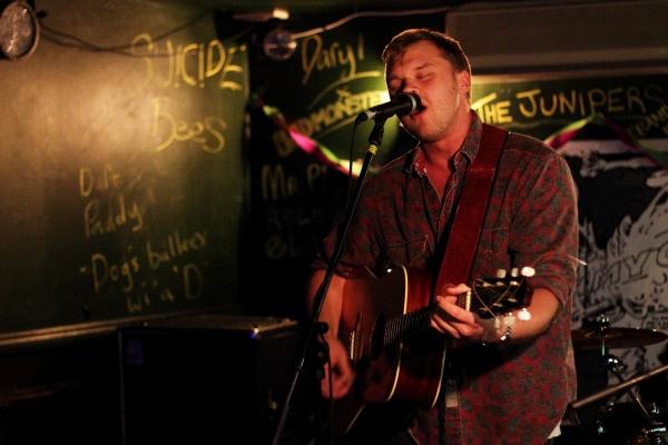 Tom Iliffe at Duffys Bar. Photo Kevin Gaughan.