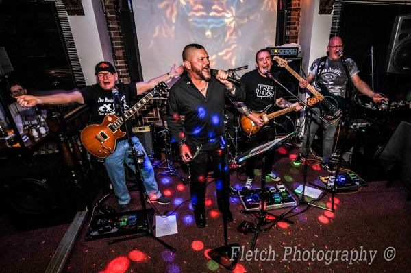 The Humberstones performing at the Harrow Inn. Photo: Fletch Photography.