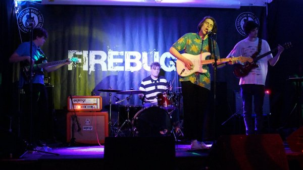 Spoort at the Firebug. Photo: Trevor Cobbe.