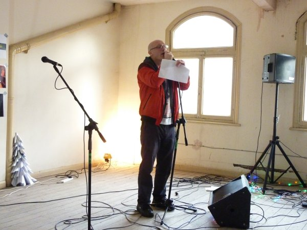 Peter Ingram at the Queen Of Bradgate. Photo: Keith Jobey