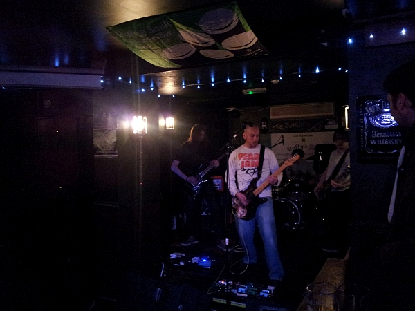 The Mine Deep at Duffys, March 6th 2016.