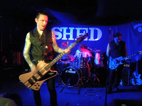 The Vibrators at The Shed, 2016